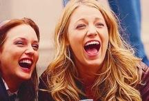 Serena y Blair.