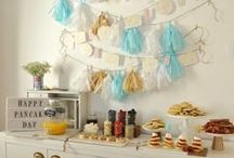 DIY : Party Planning / DIY decor and recipes for parties