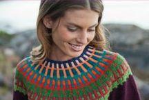 Knitting she - Tricoté pour elle