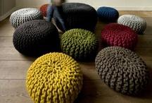 Knitting home - Tricoté pour la maison