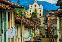 Colombia, Beautiful and Exotic / Colombia is a very beautiful country, with incredible beaches, mountains, valleys, and culture.   / by Vickys Arts and Crafts