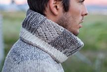 Knitting he - Tricoté pour lui