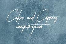 Cakes + Catering Inspiration // Stimuli Couture Design / LABELLING , MENUS , COASTERS , POP STICKS ETC