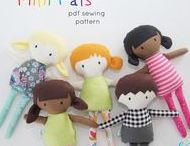 SOFTIES / Sewing patterns and cute softies