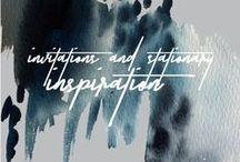 Invitation + Stationary Inspiration // Stimuli Couture Design
