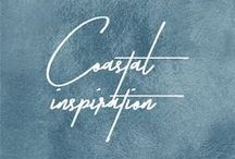 Theme: Coastal Inspiration // Stimuli Couture Design / Ideas for creating an inviting & relaxing coastal feel