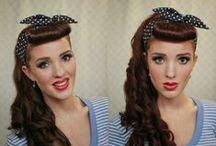 Hair, Make up, Nails, and Pin Ups! / by Stefani Elstins