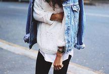 Style - Denim / Fashion men women denim jeans blue indigo