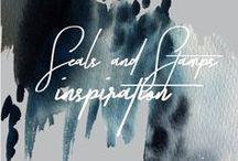 Stamps + Seals Inspiration // Stimuli Couture Design