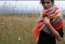 Knitting Stoles, shawl  & poncho - Etoles, châles & ponchos