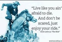 Words Worth Repeating / Inspiration and the Truth about Living off the Land