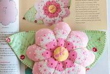 Flores / Flores con cintas y telas