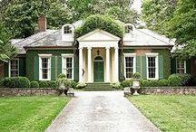 Cottages facades