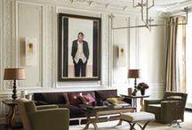 Сlassical interior / Interior design