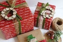 Christmas Wrappings & Decorations / Ideas