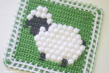 Crochet dekens en granny's