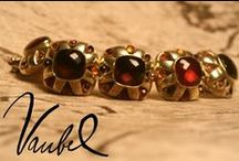Gold Bracelets / Link by link, gold bracelets crafted by Vaubel Designs are created with care.