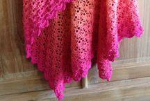 Crochet omslagdoeken en sjaals