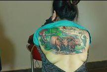 Day Art Tattoo color / tattoo
