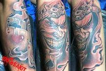 Day Art Tattoo black n grey / art