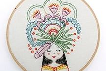 Embroidery & Cross-Stitch / Embroidery & Cross-Stitch patterns, tutorials and inspiration