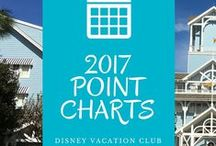 DVC Point Charts for 2017