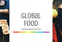 Global Food / Food from around the world is always so delicious and fun to experiment with. I love trying new recipes!