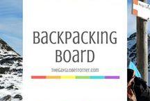 Backpacking Board