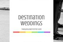 Destination Weddings / Weddings are magical! This is a board filled with my relationship goals and dream wedding locations. Most of them involve destination weddings and beach weddings