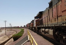 Railroad / The railroad is a huge part of both Barstow's economy and its history.  Train buff from around the world visit the city to watch trains from the many vantage points in town.