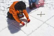 Winter Fun Outdoors / Fun ideas for getting outdoors and enjoying the snow!