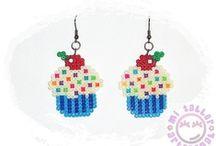 Beads, Hama, perler, fuse / by Adriana Consuegra Planas
