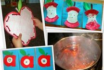 Apples, apples, apples / Bushels of ideas for teaching about apples in preschool!