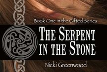 THE SERPENT IN THE STONE by Nicki Greenwood / Sara Markham is a driven archaeologist with paranormal gifts, and the desperate need to keep them secret. But when she meets Ian Waverly, a wildlife biologist sworn to hate the gifted due to a tragic past, sparks fly. Can she and Ian keep their heads – and hearts – when a deadly ancient ritual forces them together? Visit http://www.nickigreenwood.com/books/excerpts/serpent.html & related boards SHETLAND, ARCHAEOLOGY, and WILDLIFE for more!