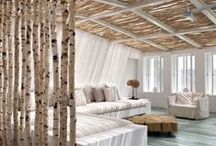 INTERIOR · MODERN NATURE / On this Pinterest board I share my favorite interior pictures in the category 'modern nature'! | interior | bedroom | livingroom | kitchen | workspace | office | bathroom | modern | nature | wooden | interior details | interior design | interior tips