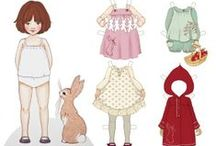 paper dolls and also dolls