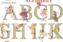 flowers fairies alphabet