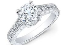 - Vintage Style Engagement Rings -