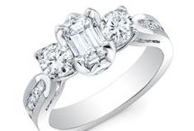 - Three Stone Engagement Rings -