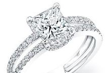 - Split Shank Style Engagement Rings -