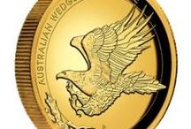 Australian Wedge-Tailed Eagle Coins / Stunning gold, silver and platinum coins portraying Australia's largest bird of prey.
