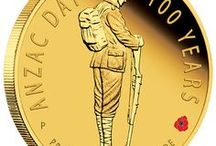 Australian Military Service and Sacrifice / Coins commemorating men and women of the Australian Defence Force and those who've served in times of conflict