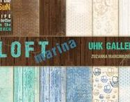 UHK Gallery 2016 - LOFT marina - scrapbooking papers collection