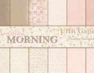 UHK Gallery 2017 - WEDDING MORNING - scrapbooking paper collection