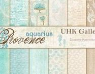 UHK Gallery 2017 - PROVENCE AQUARIUS - scrapbooking papers collection