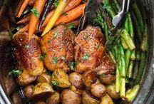 Slow Cooker & Instant Pot Recipes / Recipes using slow cooker and instant pot or pressure cooker.