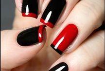 Kynsityylejä / #kauneus #kynnet #manikyyri #lakkaus #nails #manicure