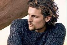 Miesten hiustyylejä: pitkät tai ei ihan lyhyet :) / #komeus #miehet #hiukset #tyyli #hair #grooming