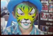 Face Paint - full face Designs / Face painting designs to inspire