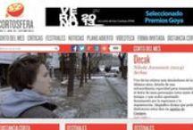 Enlaces / Una selección de enlaces sobre Cine  Bases de datos de cine Buscadores temáticos Cortometrajes Revistas de cine Web de Cine